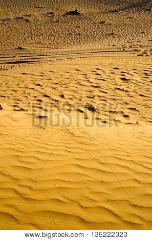 Sand texture in Gold desert