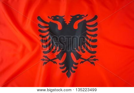 Flags of Albania