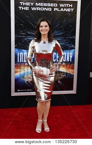 Sela Ward at the Los Angeles premiere of 'Independence Day: Resurgence' held at the TCL Chinese Theatre in Hollywood, USA on June 20, 2016.