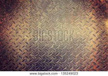 Tile pattern resembling a rusty steel plate.