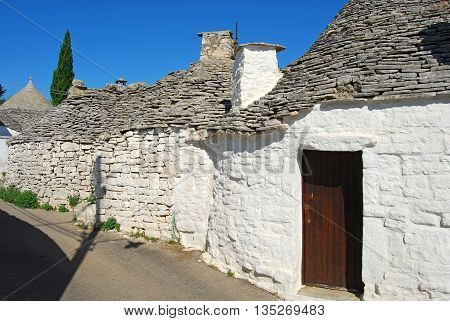 Among the Trulli of Alberobello in Apulia - Italy