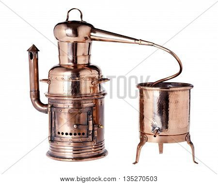 Old Vintage Copper Alembic