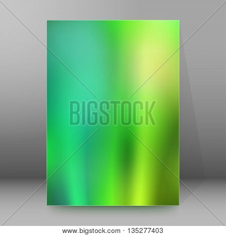 Brochure Cover Template Vertical Format Glowing Background46