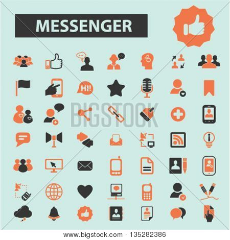 messenger icons