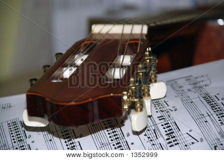 Guitar And Sheets