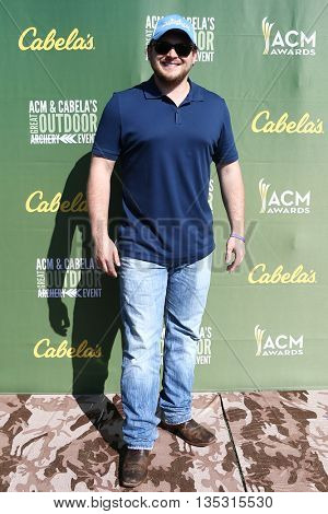 ARLINGTON, TX - APR 18: Josh Abbott attends the ACM & Cabela'??s Great Outdoor Archery Event during the 50th Academy Of Country Music Awards at the Texas Rangers Youth Ballpark on April 18, 2015.