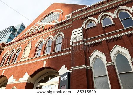 NASHVILLE, TN-SEP 1: General atmosphere at the 9th Annual ACM Honors at the Ryman Auditorium on September 1, 2015 in Nashville, Tennessee.