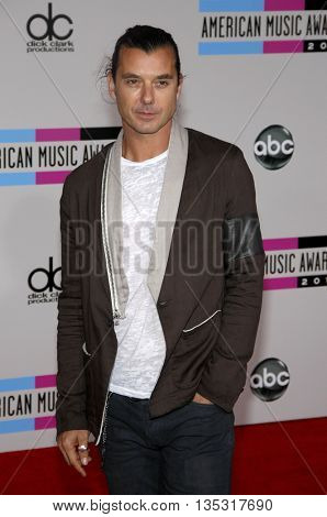 Gavin Rossdale at the 2010 American Music Awards held at the Nokia Theatre L.A. Live in Los Angeles, USA on November 21, 2010.