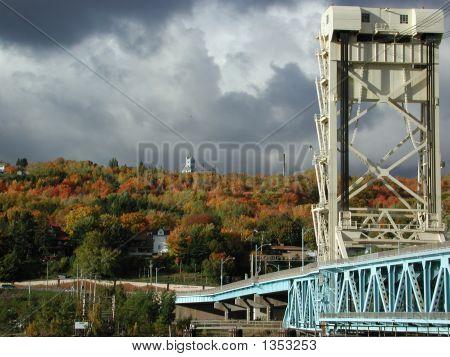 Houghton-Hancock Lift Bridge (Quincy Mine)