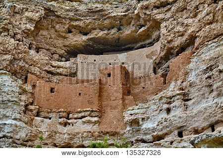 Montezuma's Castle Camp Verde  Arizona