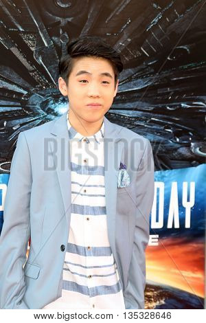 LOS ANGELES - JUN 20:  Lance Lim at the Independence Day: Resurgence LA Premiere at the TCL Chinese Theater IMAX on June 20, 2016 in Los Angeles, CA