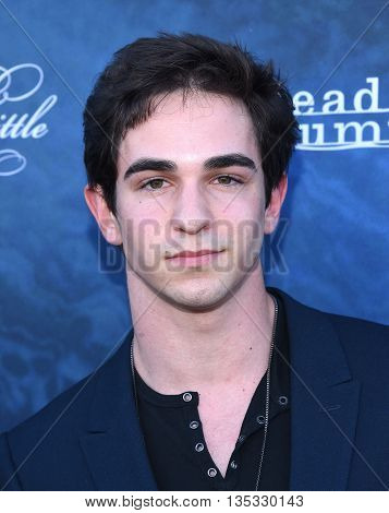 LOS ANGELES - JUN 15:  Zachary Gordon arrives to the arrives to the Pretty Little Liars Season 7 Event  on June 15, 2016 in Hollywood, CA.