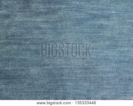 Texture of blue jeans for a background