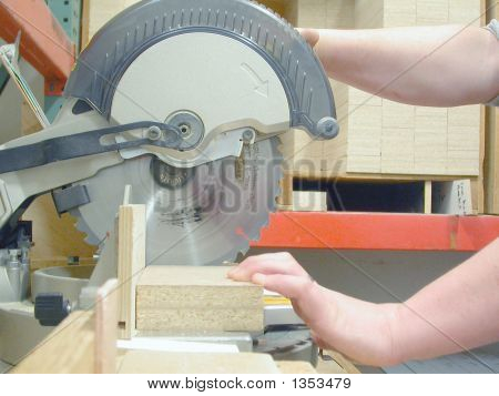 Chop Saw - Carpentry