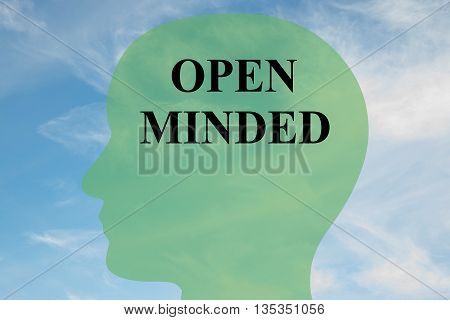 Open Minded Mental Concept