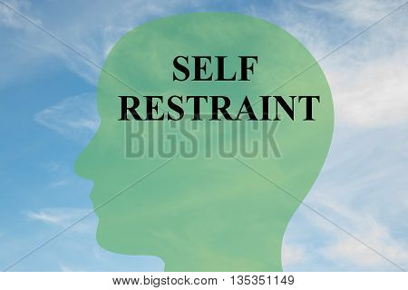 Self Restraint Mental Concept