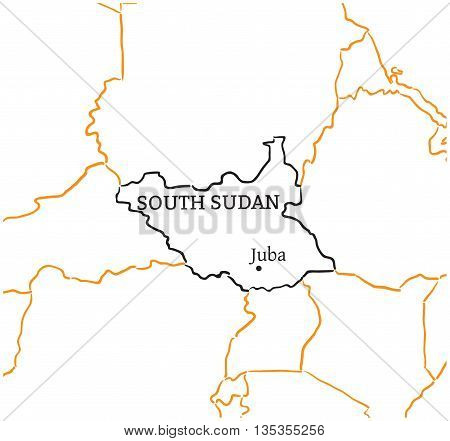 South Sudan Country Vector & Photo (Free Trial) | Bigstock on africa map drawings, italy map drawings, colombia map drawings, texas map drawings, new jersey map drawings, india map drawings, earth map drawings, canada map drawings, ecuador map drawings, japan map drawings, honduras map drawings, spain map drawings, france map drawings, florida map drawings, greece map drawings, mexico map drawings, kuwait map drawings, united states map drawings, cuba map drawings, dominican republic map drawings,
