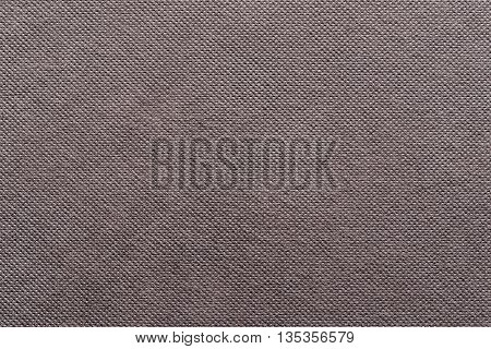 the grooved textured design of fabric with pile for the abstract background and for wallpaper of chocolate color