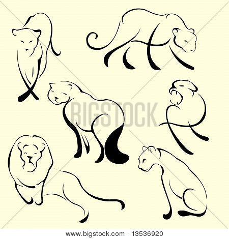 Lion Design Set