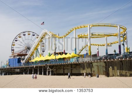 Santa Monica Pier Theme Park