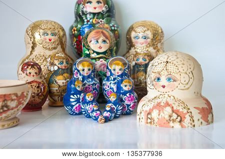 Family Of Russian Nested Dolls