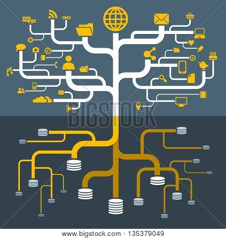 network file storage computer communication tree server
