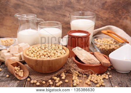 assorted soya product