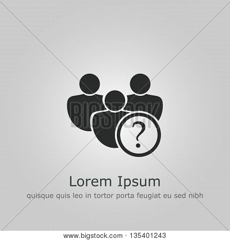 User Help Icon In Vector Format. Premium Quality User Help Symbol. Web Graphic User Help Sign On Gre