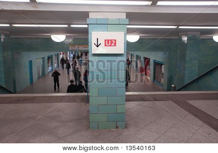 Berlin U-bahn Station