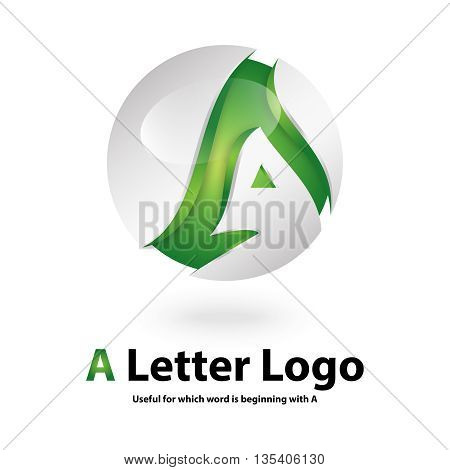 a 3d letter logo design 100% vector re editable and re sizable this will suitable for which letter starting with a