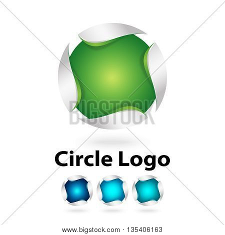3d logo design 100% vector re editable and re sizable