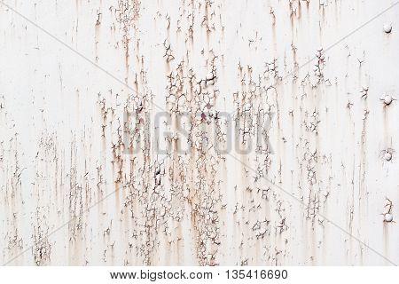 Damaged Corrugated Surface Background