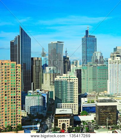 Business Architecture Of Manila, Philippines