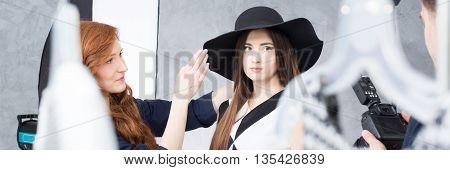 Making Of Fashion Photo Session