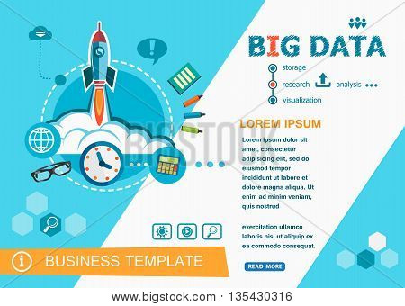 Big Data Concepts Of Words Learning And Training.