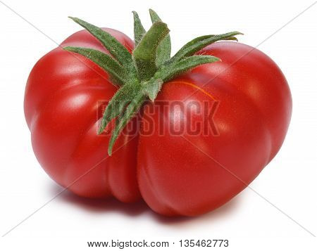 Ripe Heirloom Tomatoes On Vine, Togorific Variety
