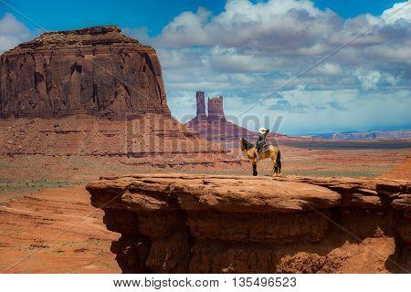 Horseback Riding John Ford's Point - Monument Valley