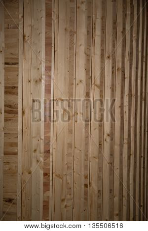 brun Texture of wood background closeup vertical