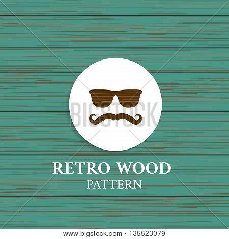 wooden retro background texture shabby paint. vector illustration. Background wood vector pattern grunge grain
