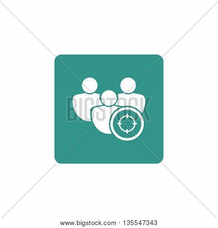 User Goal Icon In Vector Format. Premium Quality User Goal Symbol. Web Graphic User Goal Sign On Gre