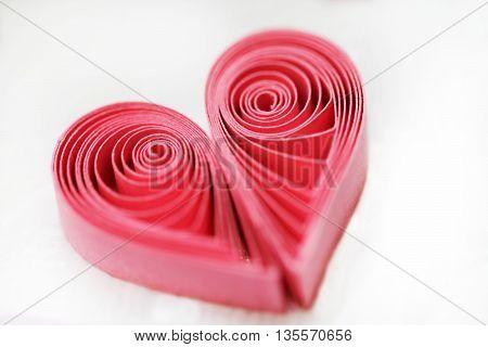 Quilling Handmade Heart