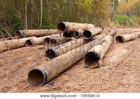 Old Iron Pipes