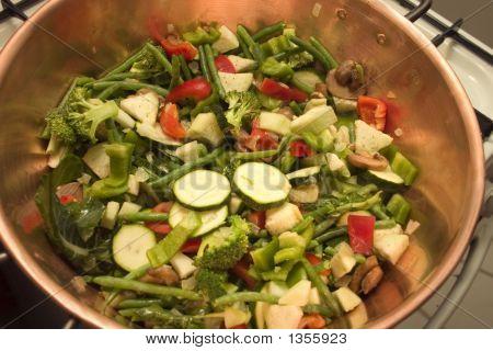 Vegetables In Copper