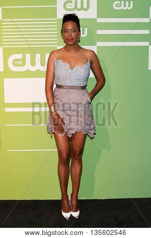 NEW YORK, NY - MAY 14: Actress Aisha Tyler attends the 2015 CW Network Upfront Presentation at the London Hotel on May 14, 2015 in New York City.