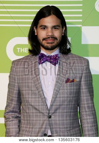 NEW YORK, NY - MAY 14: Actor Carlos Valdes attends the 2015 CW Network Upfront Presentation at the London Hotel on May 14, 2015 in New York City.