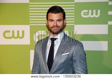 NEW YORK, NY - MAY 14: Actor Daniel Gillies attends the 2015 CW Network Upfront Presentation at the London Hotel on May 14, 2015 in New York City.