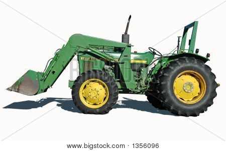 Tractor With Bucket