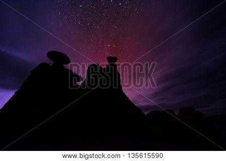 Goblin Valley At Night