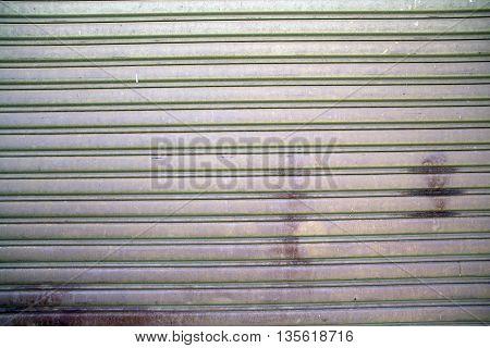 Roller Shutter Door Texture with a dirt paches