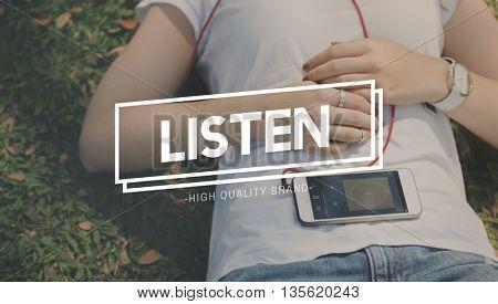 Listen Listening Heard Sound Concept